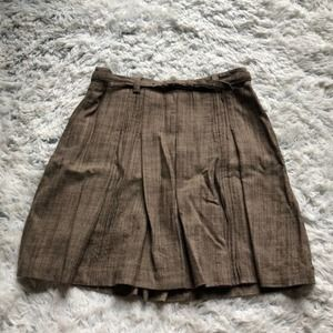 The Limited   pleated wool skirt